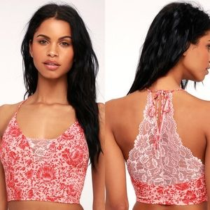 Free People Century Pink Lace Brami